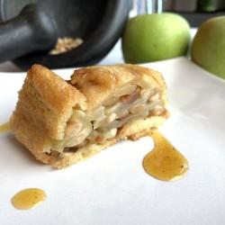 Charlotte di mele e pane